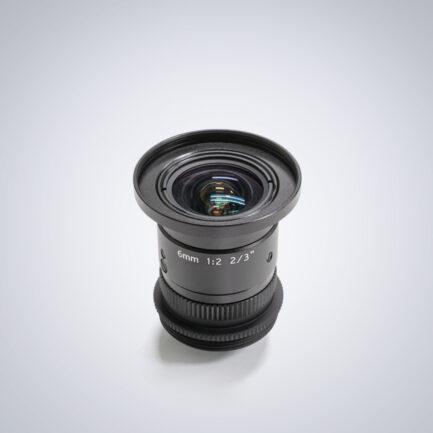 Universe 6mm compact c-mount lens