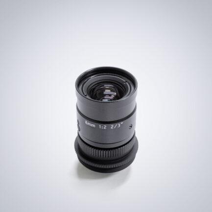 Universe 8mm compact c-mount lens