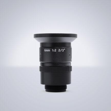 6 mm NF-Mount Objektiv Universe BL060 - f2.0