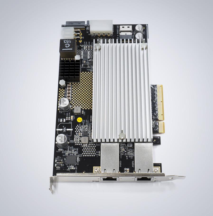 Dual port ioi 10GigE Card DGEAP2X-PCIE8XG302