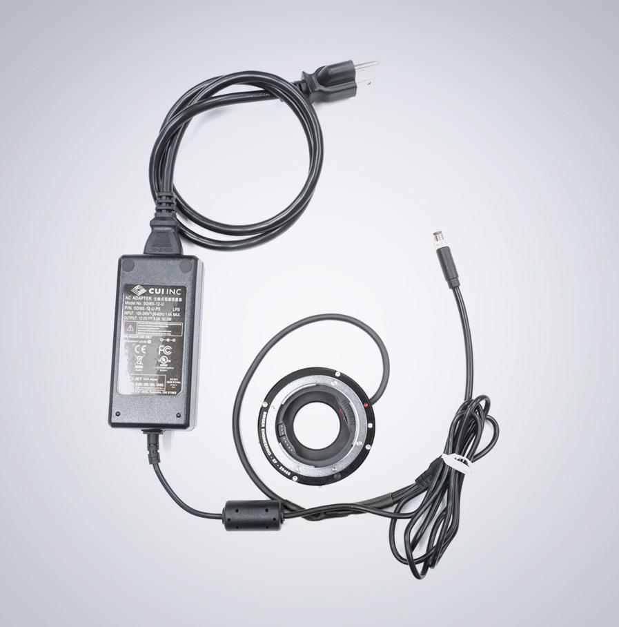 TFL-Mount auf Canon EF-Mount (mit GPIO und Power) Birger-Adapter
