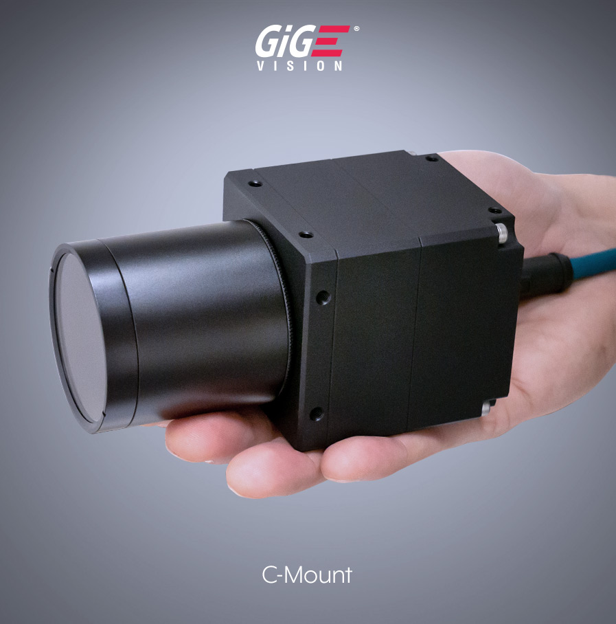 Atlas IP67 with lens tube in hand
