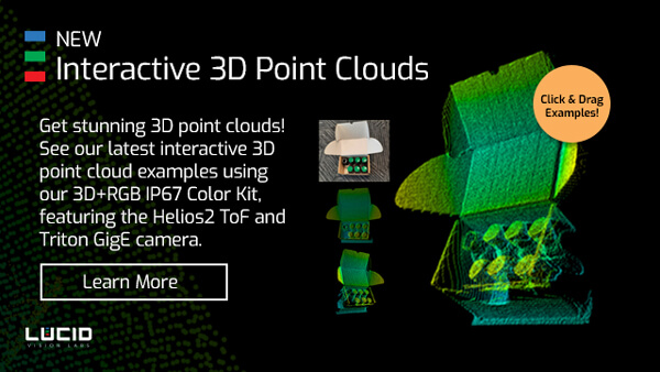 Interactive 3D tof point clouds