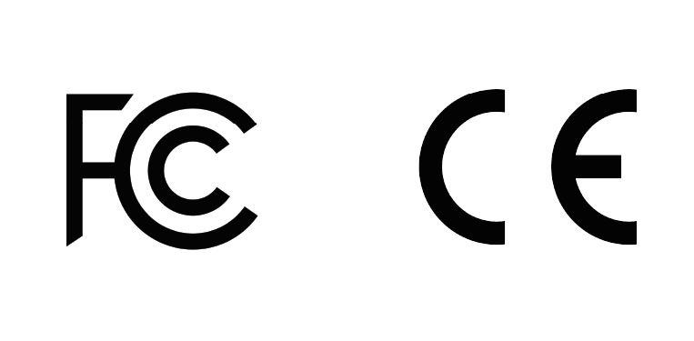 FCC CE Symbols