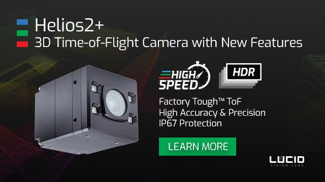 New Helios2+ ToF Camera