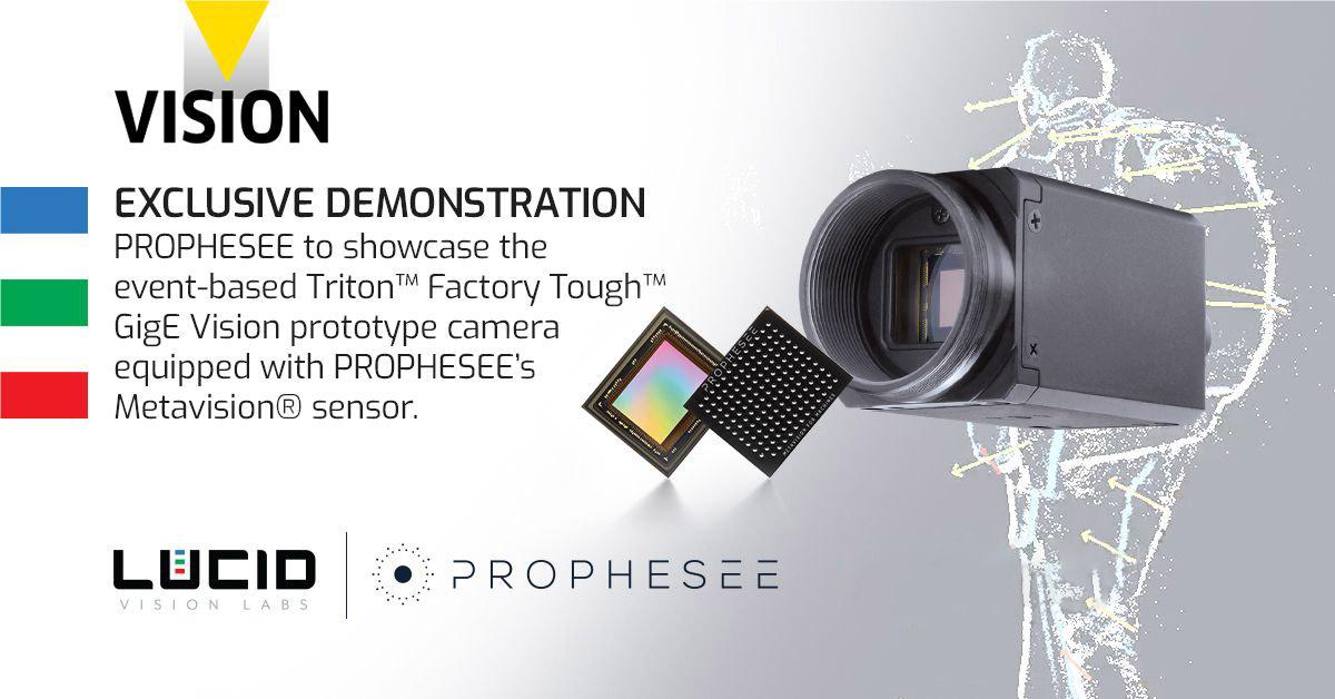 LUCID Triton Camera with Phrophesee Event-Based Sensor
