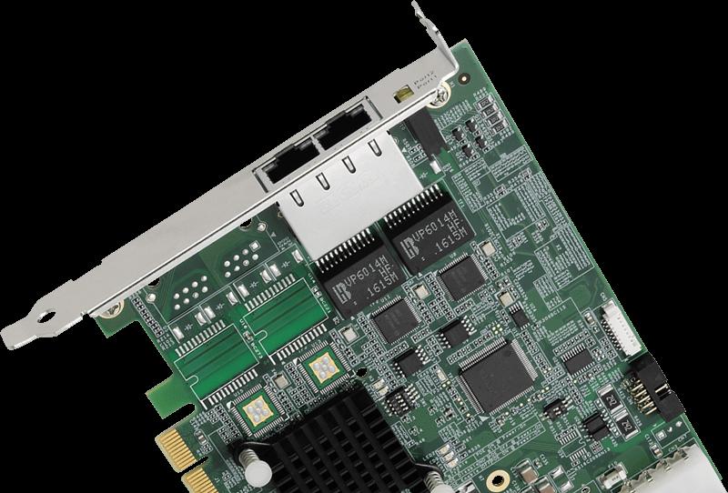 Gigabit Ethernet PoE Interface Card