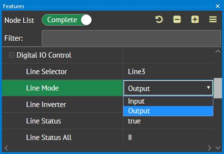 Strobe output step2