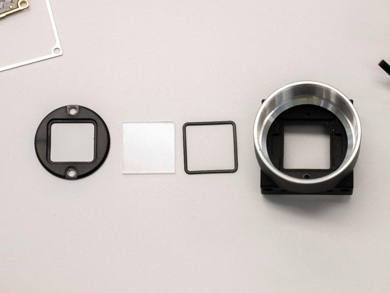 remov -ir glass filter color camera